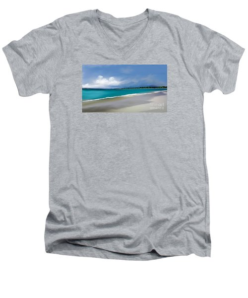 A Summer Day Men's V-Neck T-Shirt by Anthony Fishburne