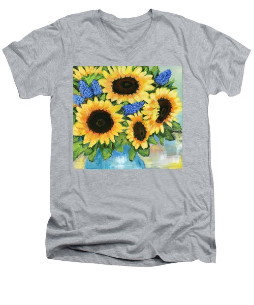 A Sunny Arrangement Men's V-Neck T-Shirt