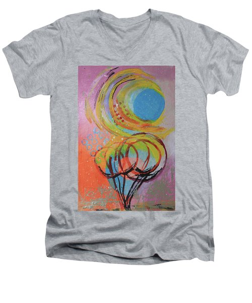 A Sunny Day Men's V-Neck T-Shirt