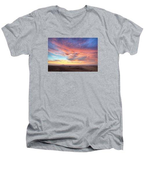 A Sunset Show Men's V-Neck T-Shirt