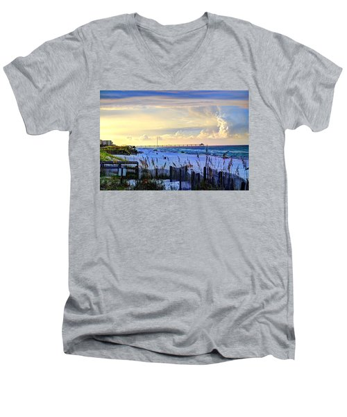 A Taste Of Heaven Men's V-Neck T-Shirt