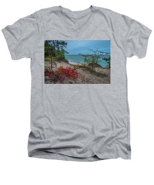 A Touch Of Color  Men's V-Neck T-Shirt
