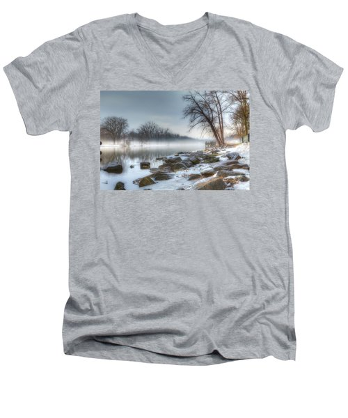 A Tranquil Evening Men's V-Neck T-Shirt