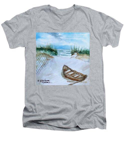A Trip To The Beach Men's V-Neck T-Shirt