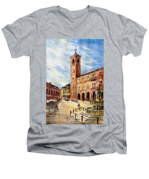 A View From Fabriano Men's V-Neck T-Shirt