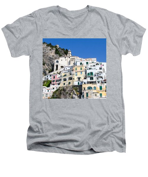 A View Of The Adratic Sea Men's V-Neck T-Shirt