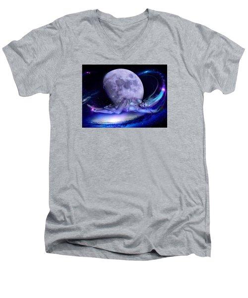A Visit From Venus Men's V-Neck T-Shirt