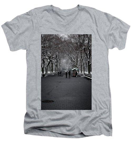 A Walk In The Park Men's V-Neck T-Shirt