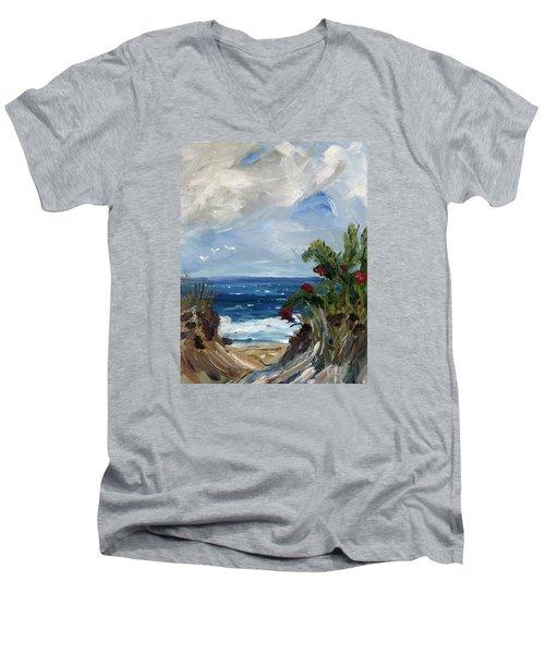 A Welcoming Way Men's V-Neck T-Shirt