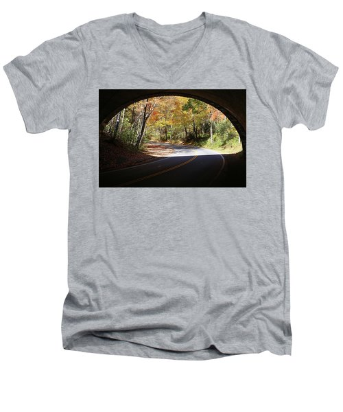 A Well Rounded Perspective Men's V-Neck T-Shirt by Lamarre Labadie