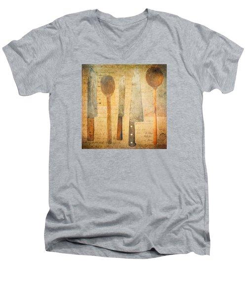A Woman's Tools Men's V-Neck T-Shirt
