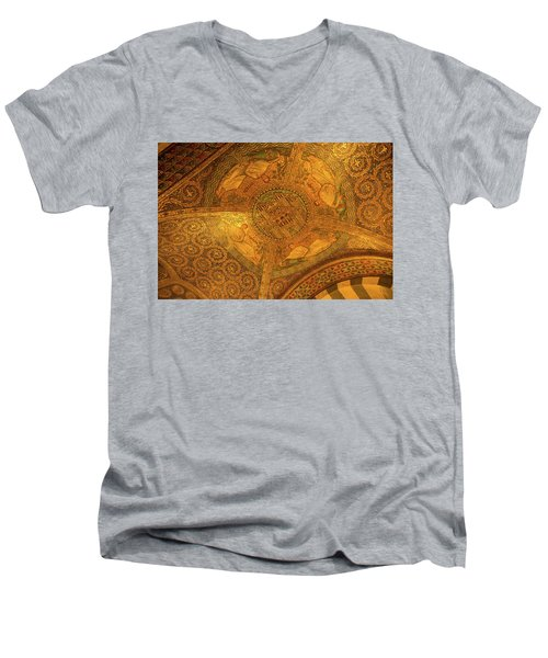 Aachen Cathedral Men's V-Neck T-Shirt