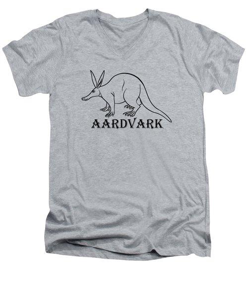 Aardvark Men's V-Neck T-Shirt