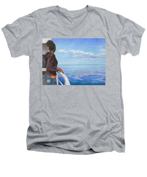 Abaco Dream Men's V-Neck T-Shirt