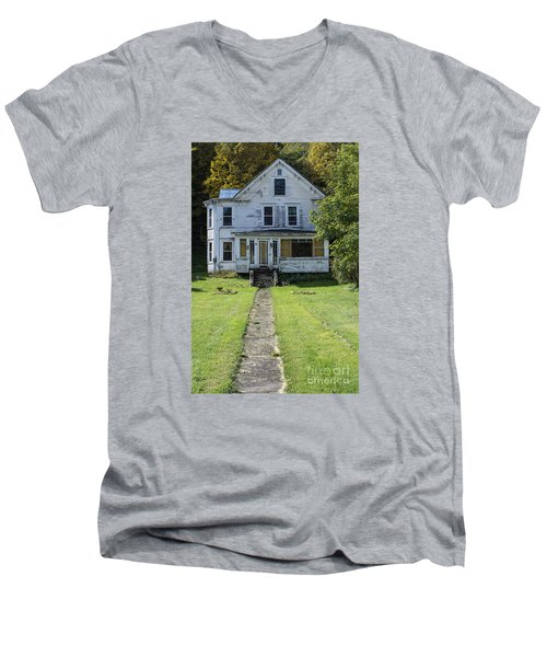 Abandoned Home, Lyndon, Vt. Men's V-Neck T-Shirt