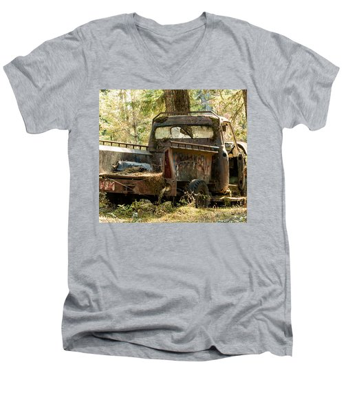 Abandoned And Abused Men's V-Neck T-Shirt