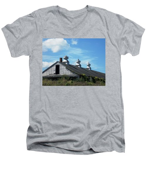Abandoned Barn 1 Men's V-Neck T-Shirt