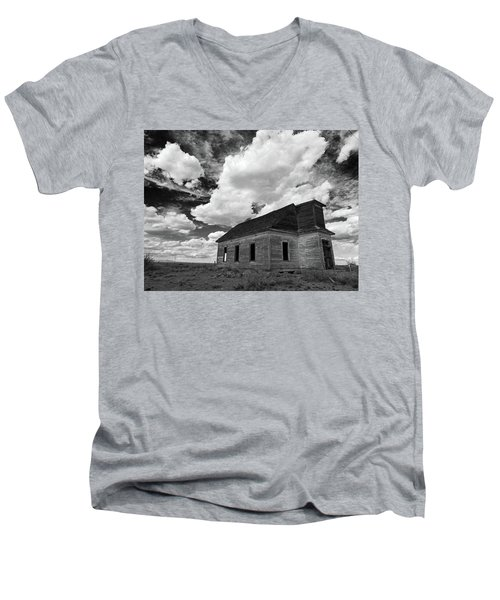 Abandoned Church  Men's V-Neck T-Shirt