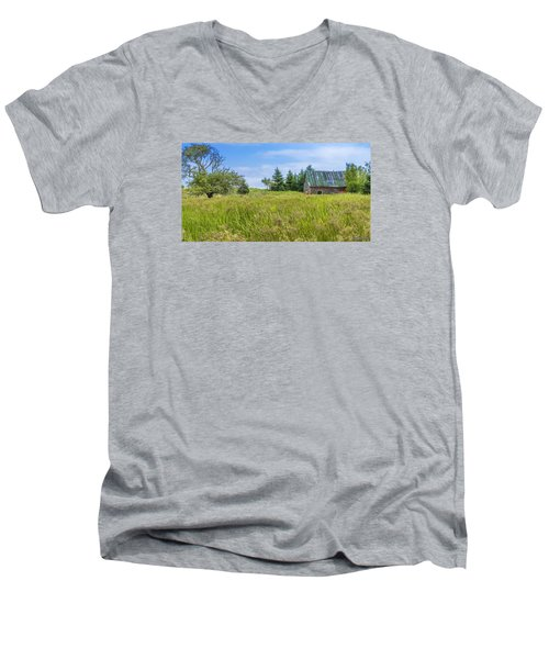 Abandoned House In Feltzen South Men's V-Neck T-Shirt