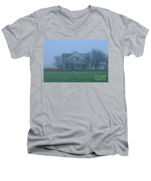 Abandoned In Oklahoma Men's V-Neck T-Shirt