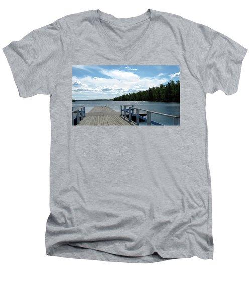 Abandoned Jetty Men's V-Neck T-Shirt