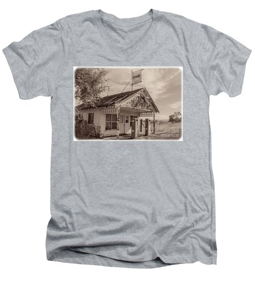 Abandoned Men's V-Neck T-Shirt by Robert Bales