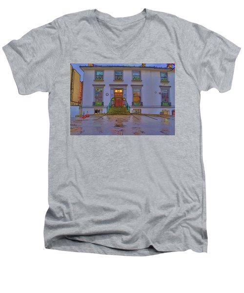 Abbey Road Recording Studios Men's V-Neck T-Shirt