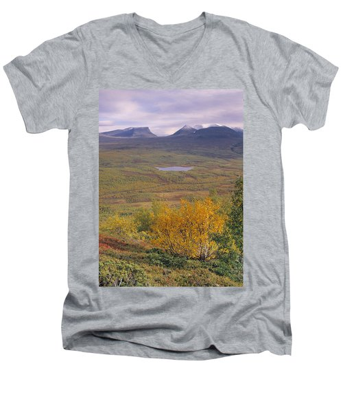 Abisko Nationalpark Men's V-Neck T-Shirt