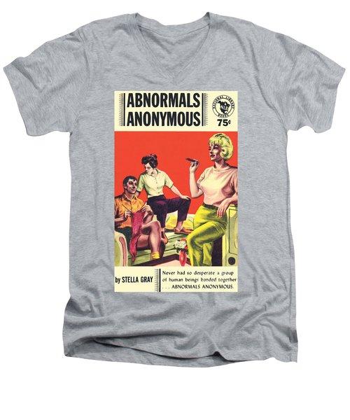 Abnormals Anonymous Men's V-Neck T-Shirt