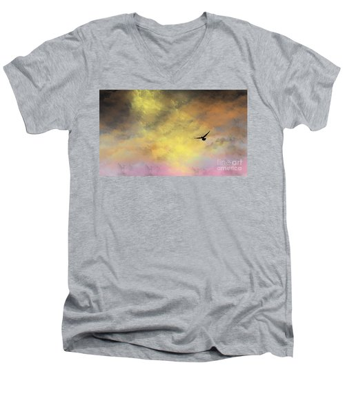 Abode Men's V-Neck T-Shirt