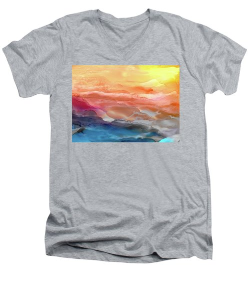 Above The Abyss Men's V-Neck T-Shirt