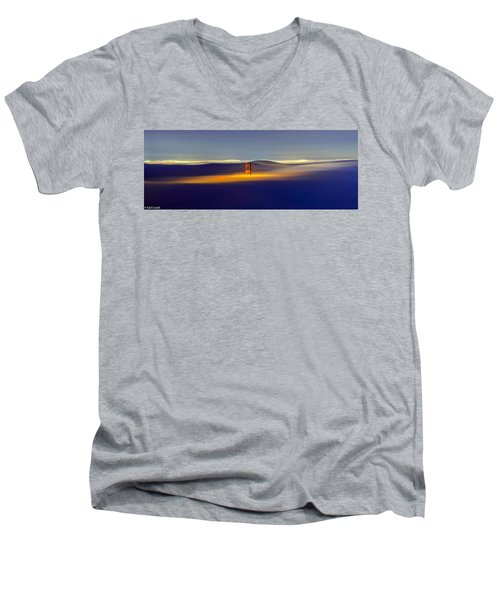 Above The Fog II Men's V-Neck T-Shirt
