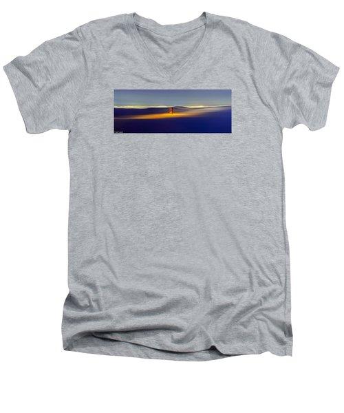 Above The Fog II Men's V-Neck T-Shirt