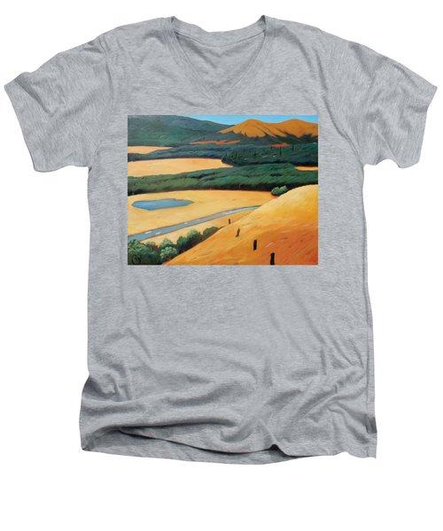 Above The Highway Men's V-Neck T-Shirt