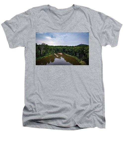 Above The Lake Men's V-Neck T-Shirt
