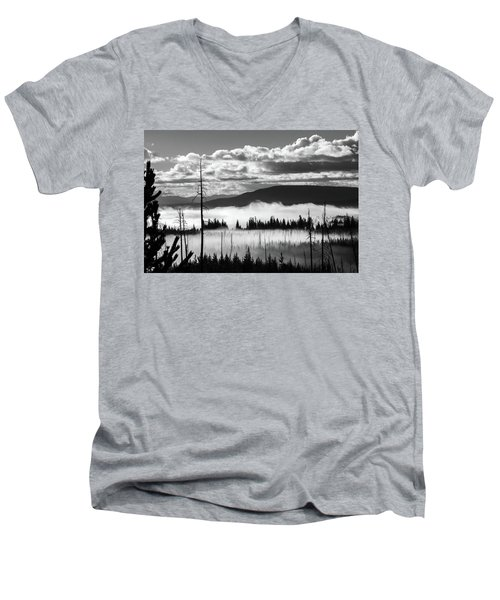 Men's V-Neck T-Shirt featuring the photograph Rising Above by Colleen Coccia