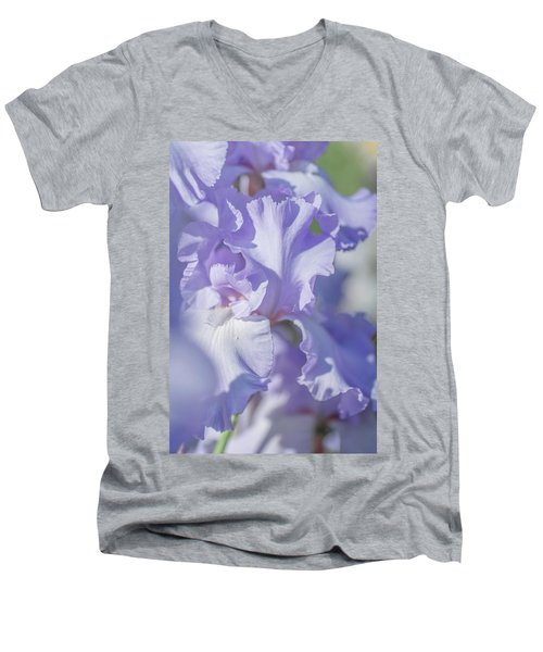 Absolute Treasure Closeup 2. The Beauty Of Irises Men's V-Neck T-Shirt