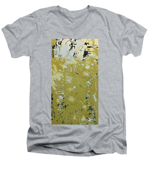 Abstract 1014 Men's V-Neck T-Shirt