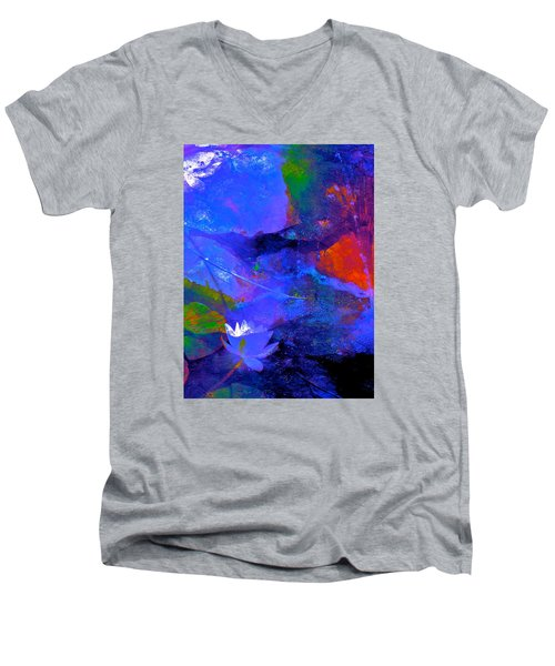 Abstract 112 Men's V-Neck T-Shirt