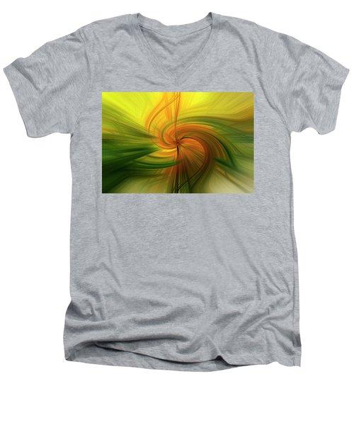 Abstract 12 Men's V-Neck T-Shirt
