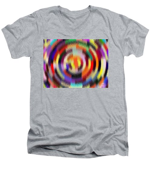 Abstract 120116 Men's V-Neck T-Shirt