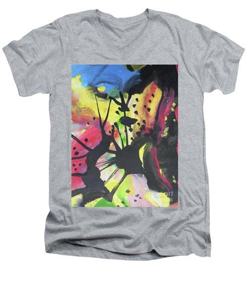 Abstract-2 Men's V-Neck T-Shirt