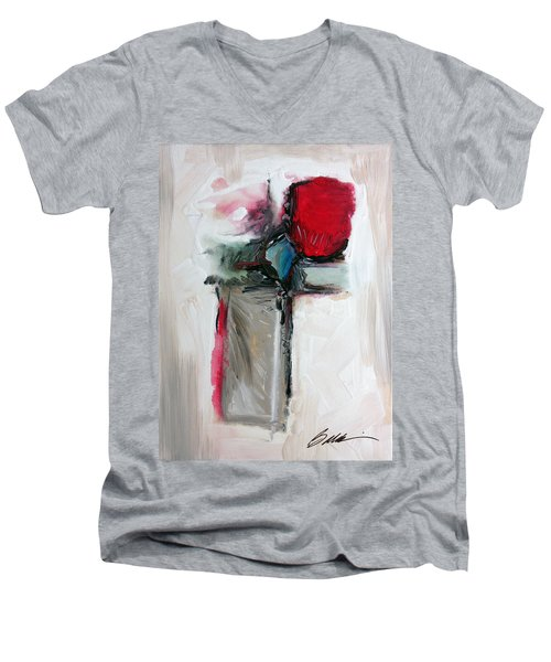 Abstract 200709 Men's V-Neck T-Shirt