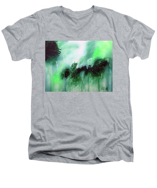 Abstract 2013013 Men's V-Neck T-Shirt