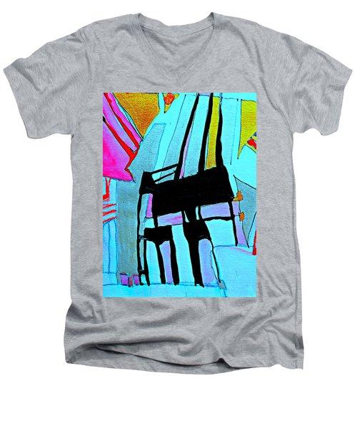 Abstract-28 Men's V-Neck T-Shirt