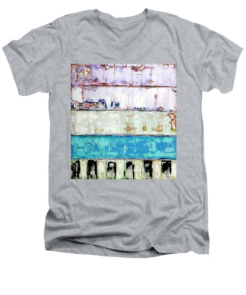 Art Print Abstract 31 Men's V-Neck T-Shirt