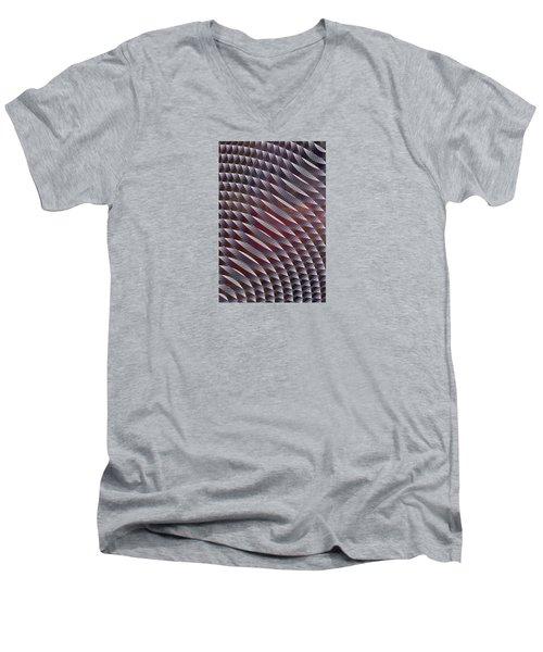Abstract 33017-1 Men's V-Neck T-Shirt by Maciek Froncisz