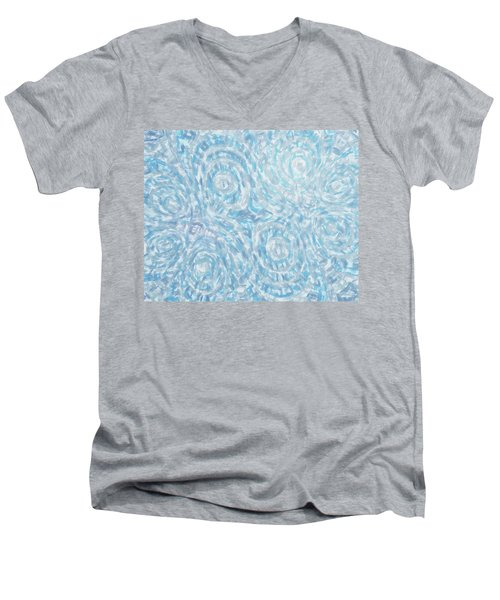 Abstract 432 Men's V-Neck T-Shirt