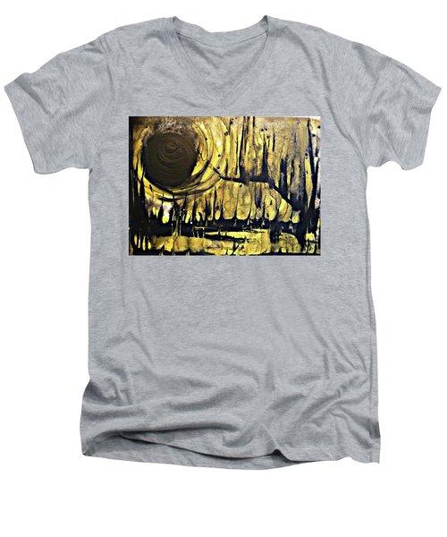 Abstract 8 Men's V-Neck T-Shirt