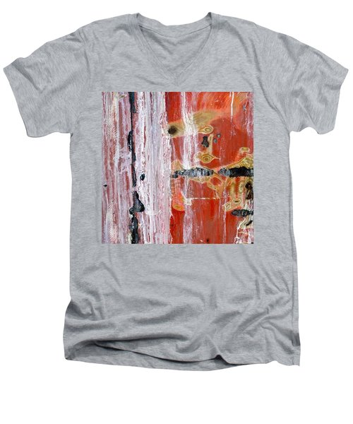 Abstract By Edward M. Fielding - Men's V-Neck T-Shirt